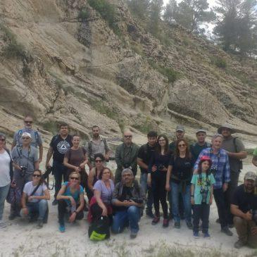 Así transcurrió la jornada de odonatos en el P.N. Sierra María-Los Vélez